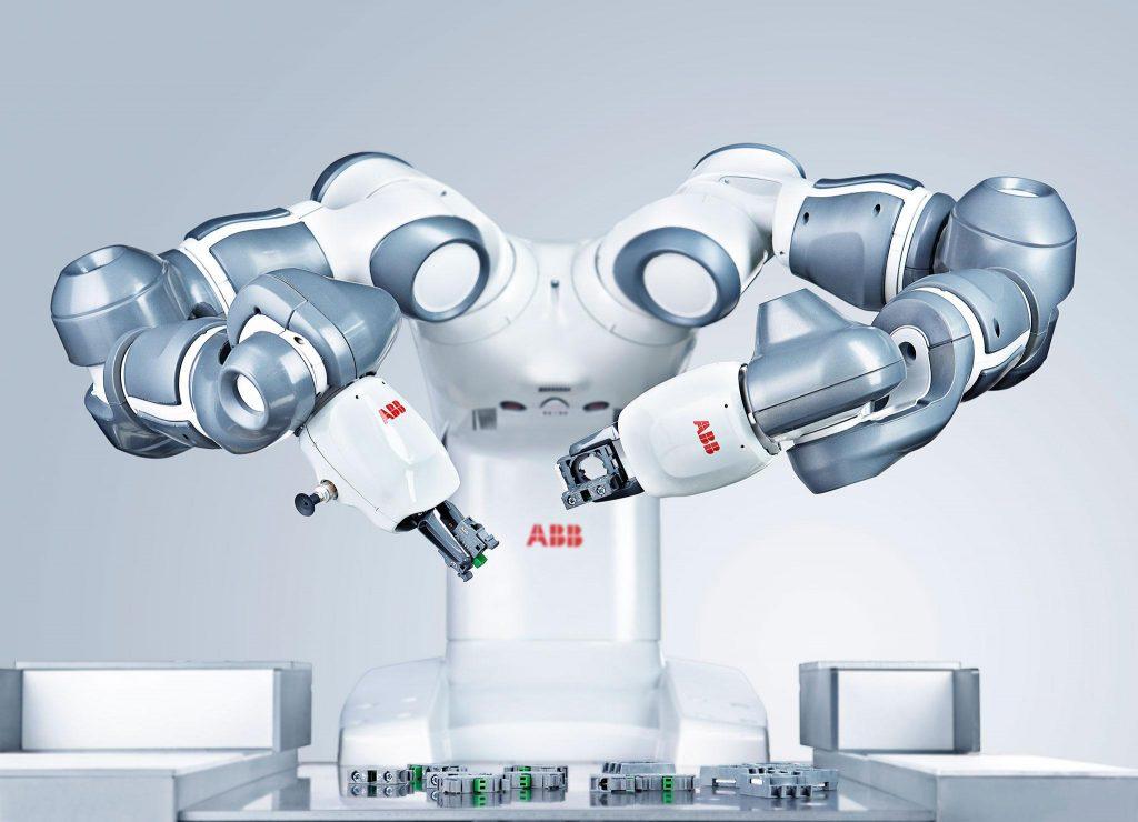 Roboty współpracujący ABB
