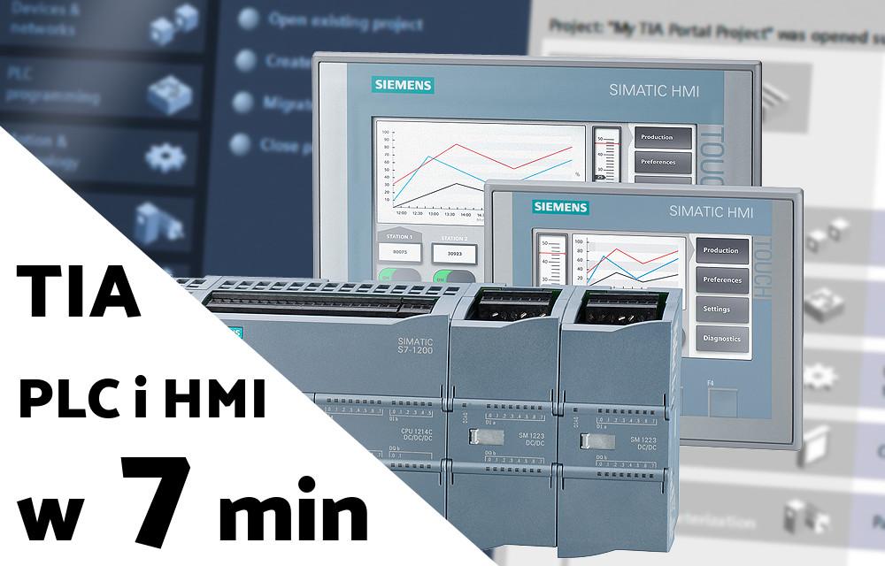 Podłączenie PLC do wirtualnego HMI